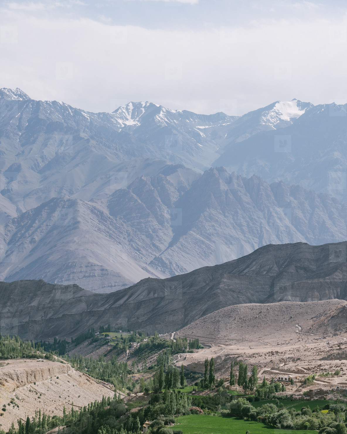 Mountain view  Ladakh  India  02