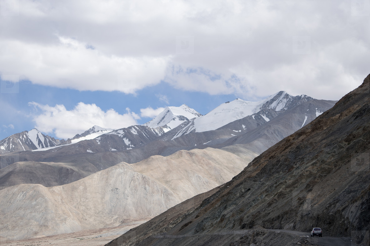 Mountain view  Ladakh  India  03