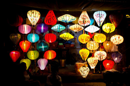 Colorful lamps for sale