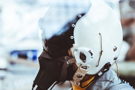 Phantom Pilot Helmet
