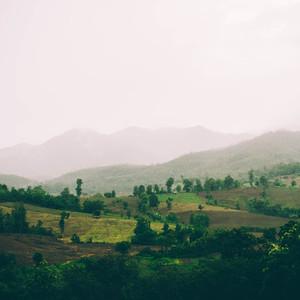 Hills of thailand