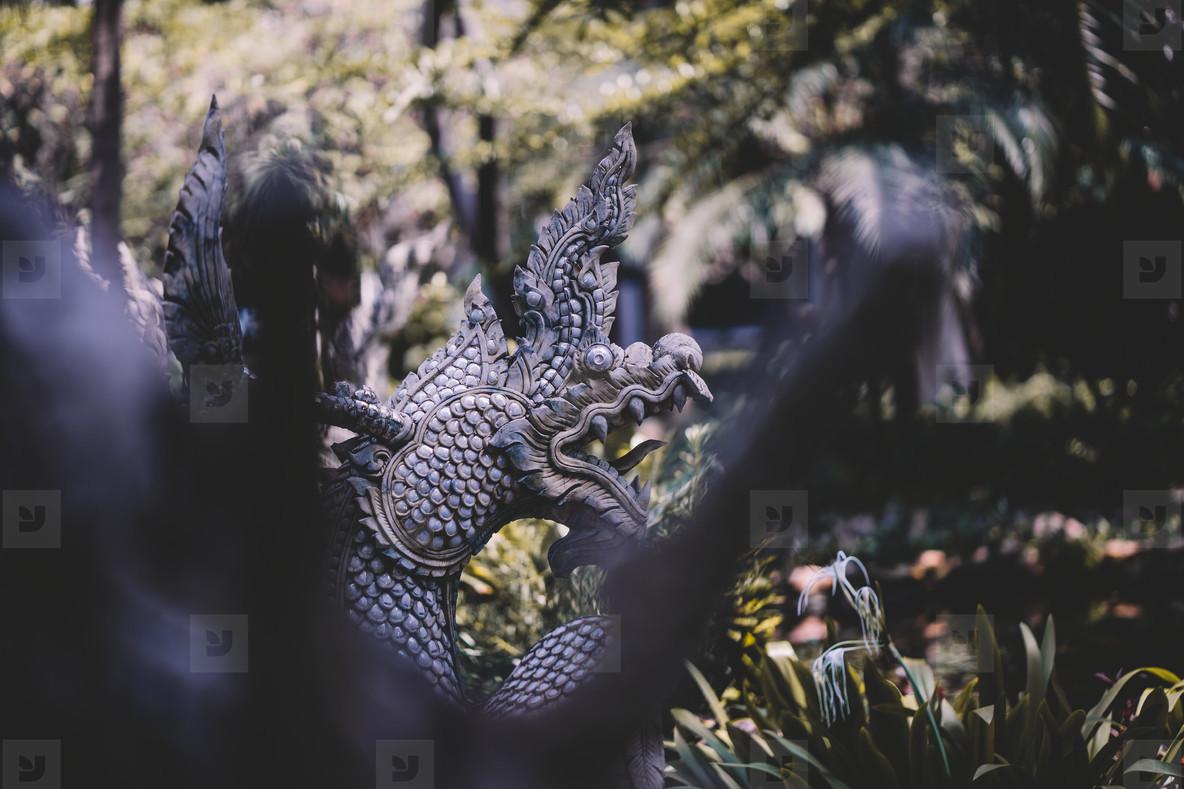 Buddhist Shrine Dragon