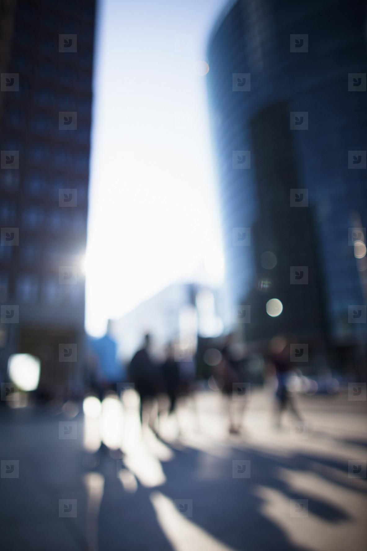 Urban Scenes Defocused  10