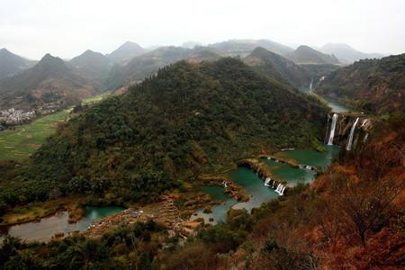 Jiulong waterfall China
