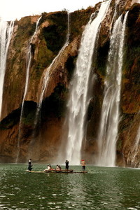 Jiulong waterfall  China