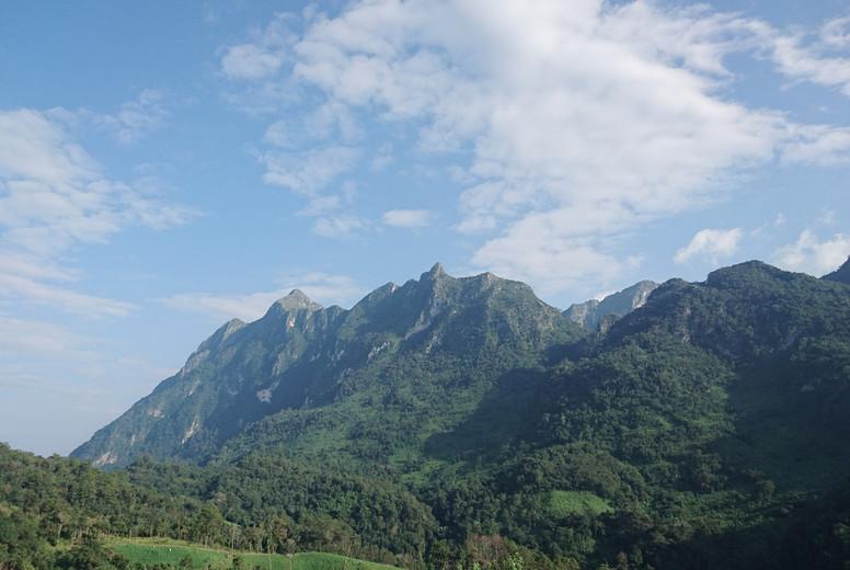 Summer mountains