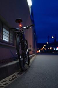 night bicycle