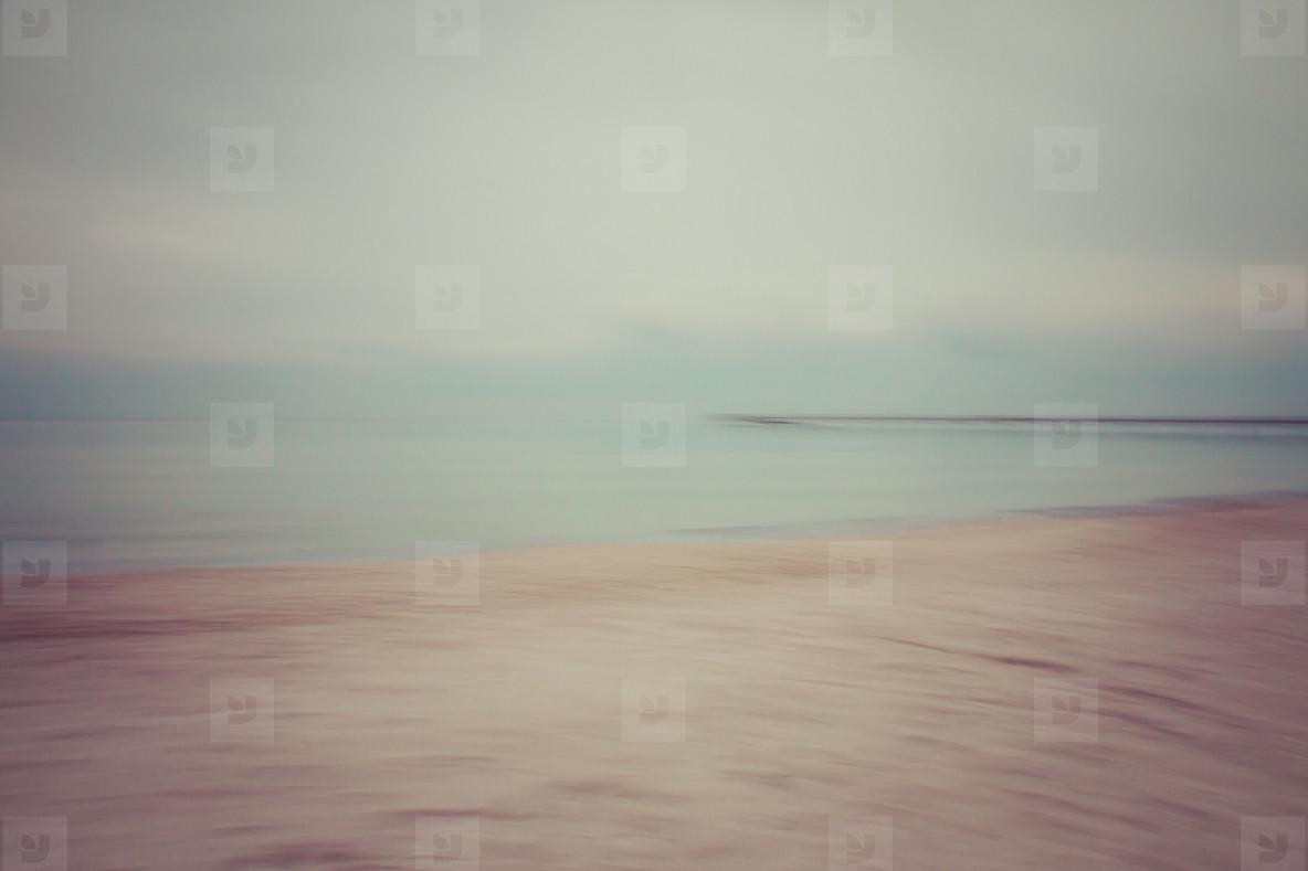 blurred view