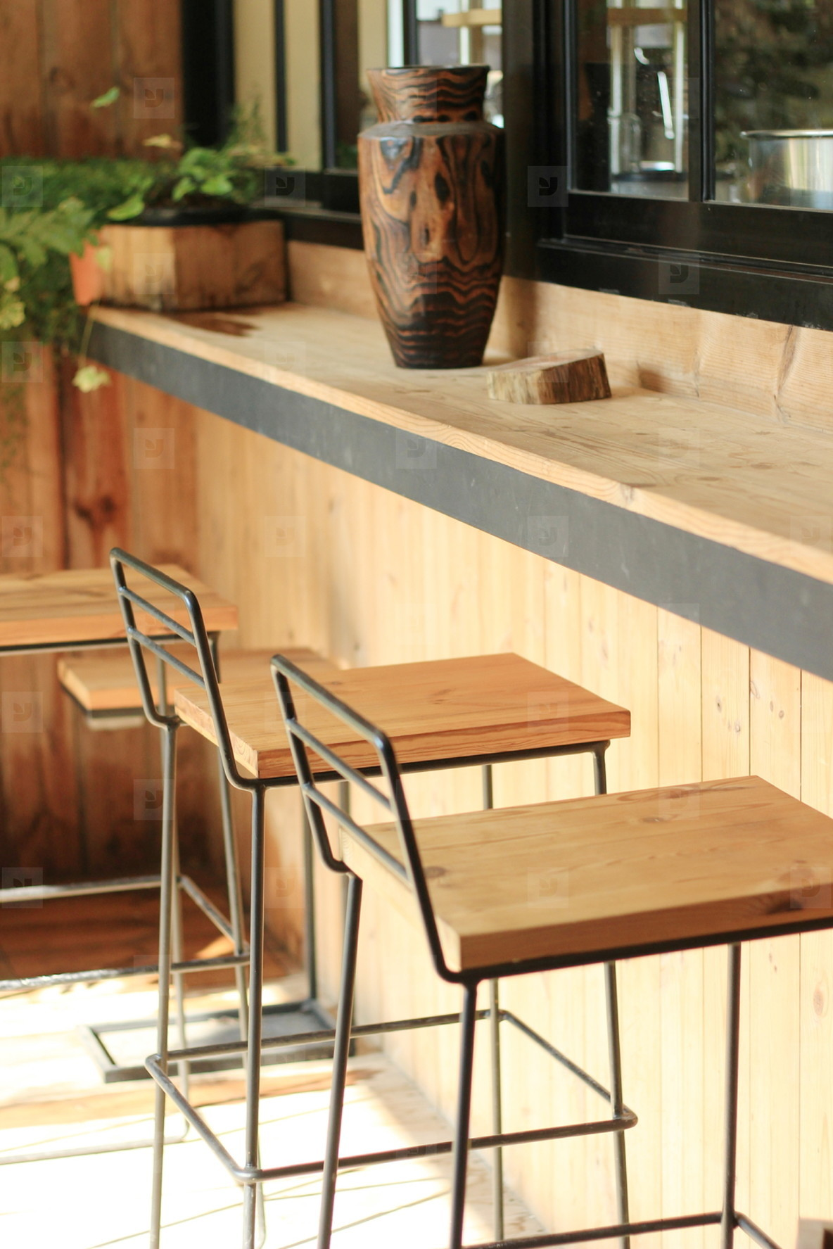 Hipster cafe interior  04