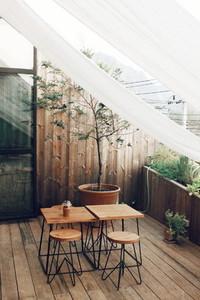 Hipster cafe interior 05