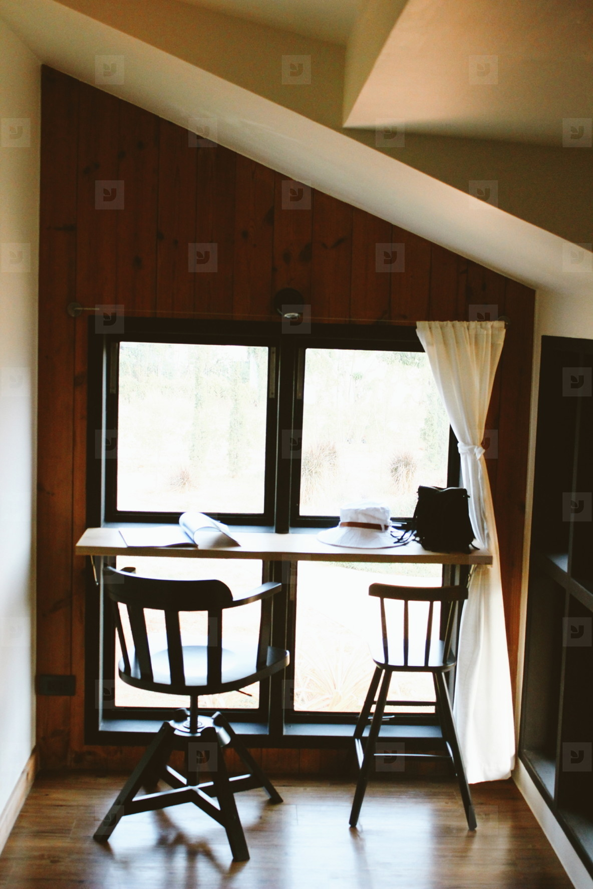Hipster cafe interior  08