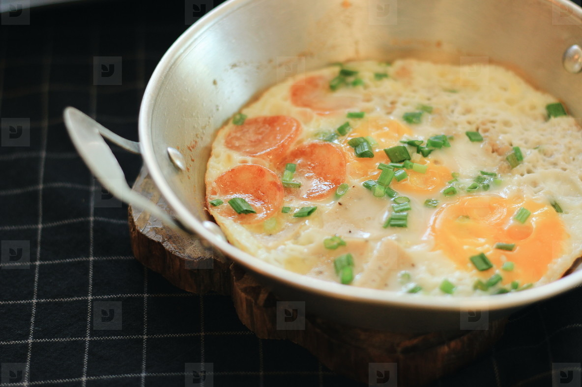 Indochina pan fried egg