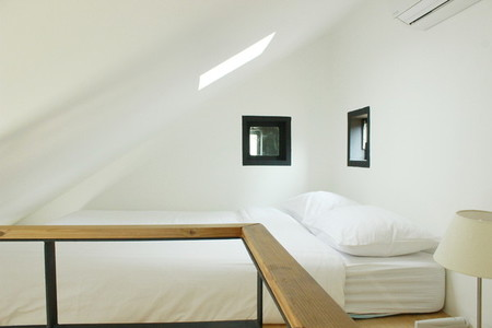 Bedroom under the roof