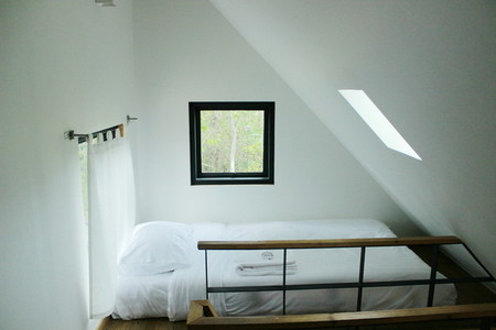 Bedroom under the roof