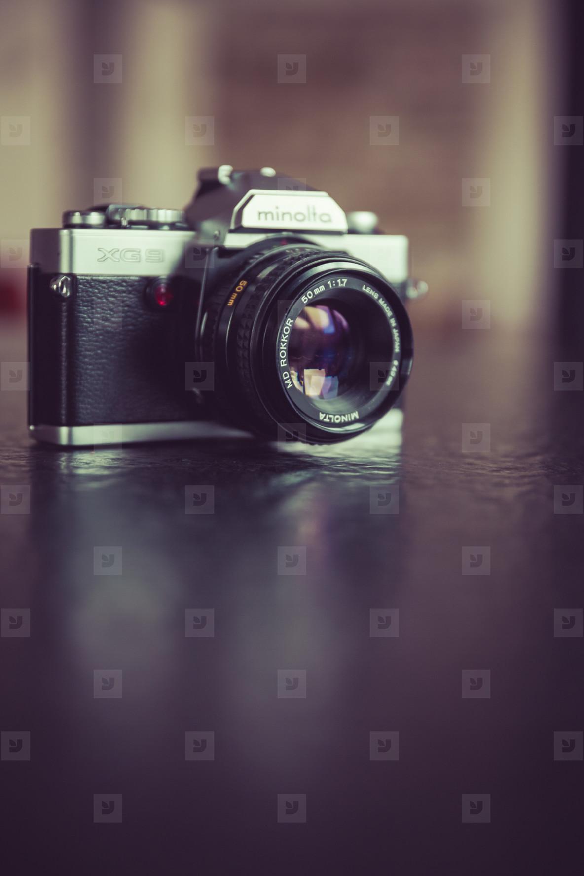 analog vintage camera