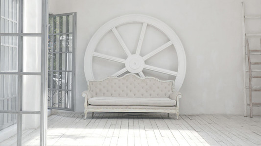 Minimalist and bright interior