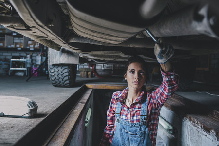 Young Female Mechanic 07