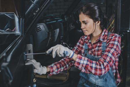 Young Female Mechanic 08