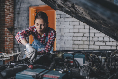 Young Female Mechanic 10