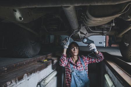 Young Female Mechanic 11