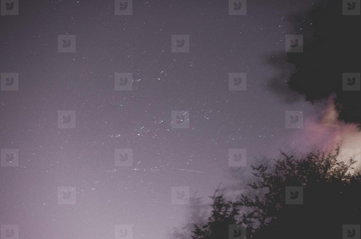 Peaceful Night Sky
