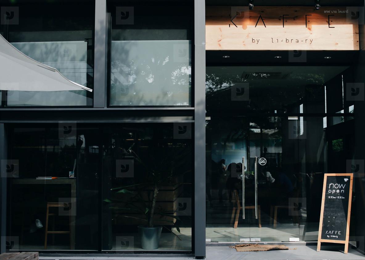/Cafe London Kerman Giacca in pelle Black/