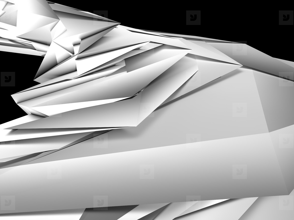 abstract 3d illustation