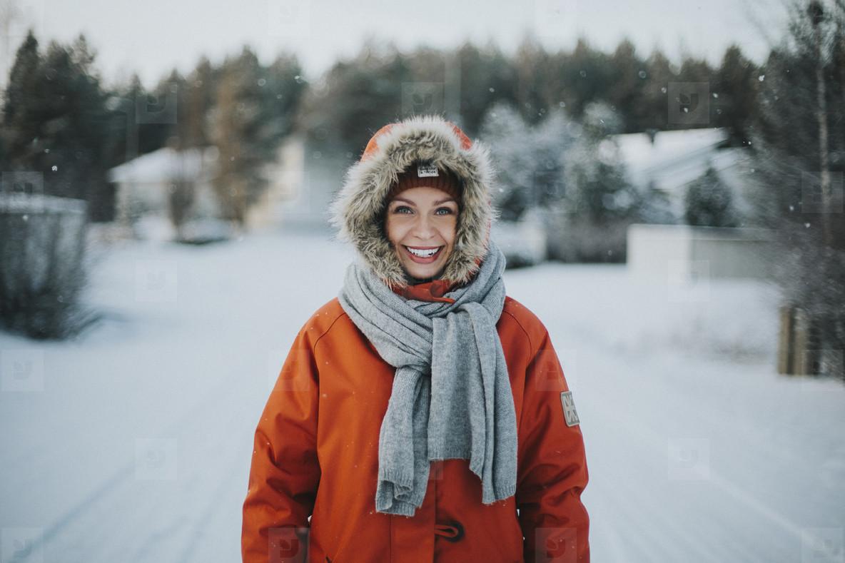 Winter Parka Portrait