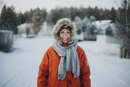 Winter Parka Portrait