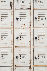 Retro locker