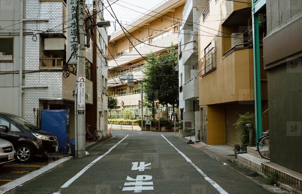 Village Street  Japan