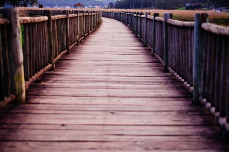 walkway wood