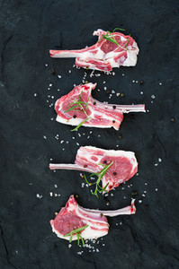 Rack of Lamb with rosemary and spices