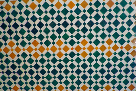 color arabesque wall