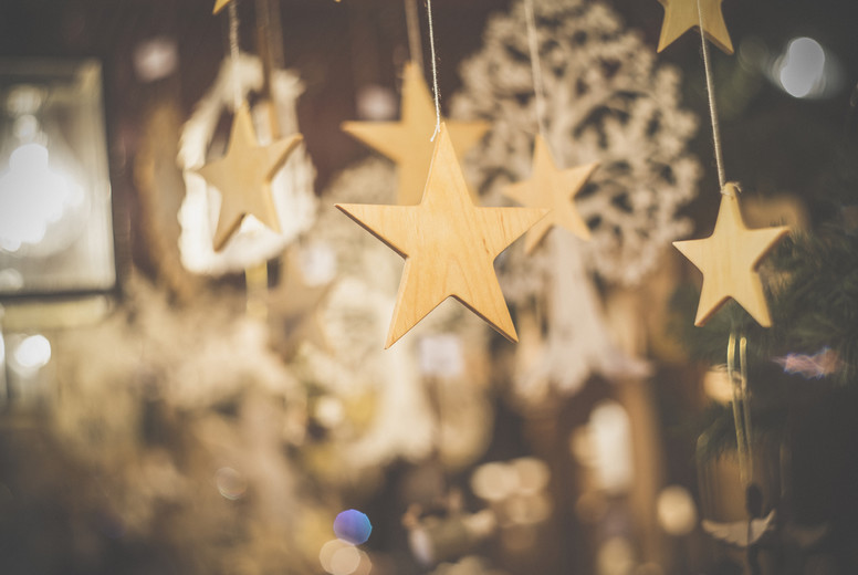 Christmasy Deo Items Golden Star