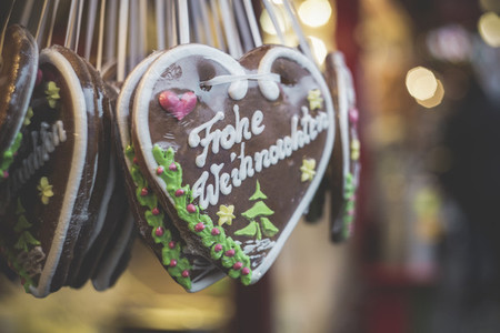 Gingerbread Heart Christmas
