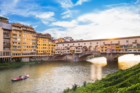 View of Ponte Vecchio   Florence