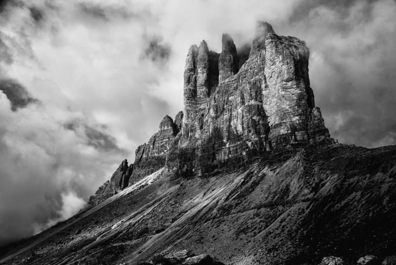 Dolomites mountain panorama
