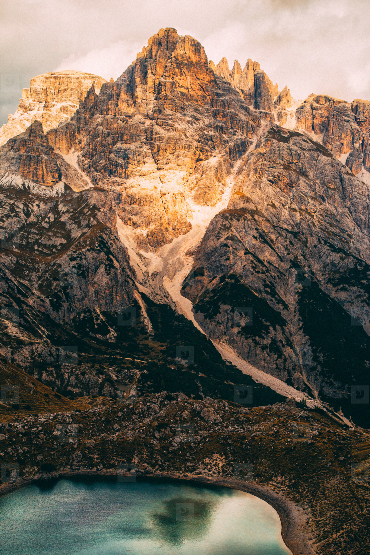 Dolomites mountain panorama