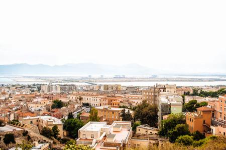 Palermo urban skyline