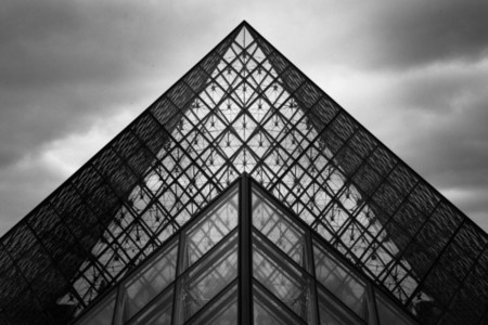 Paris   Louvre Pyramid