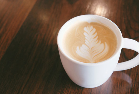 Cup of latte art