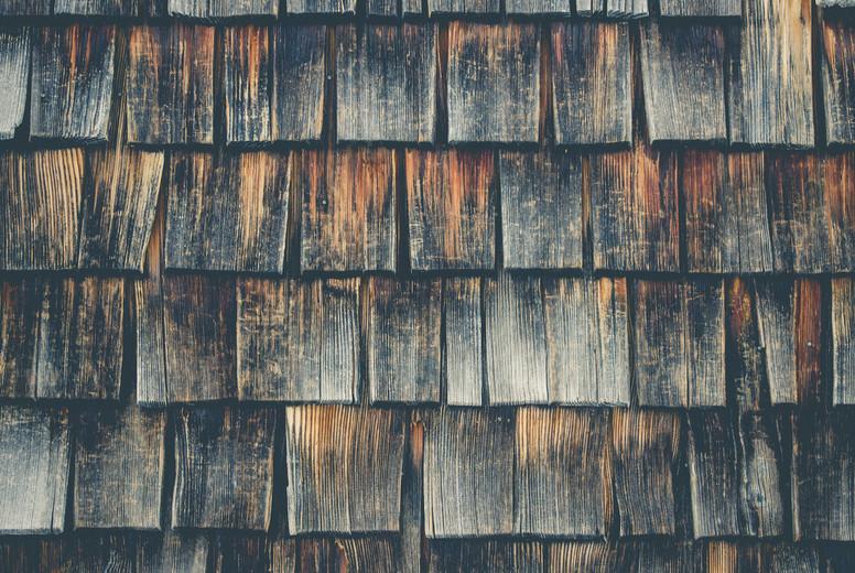 weathered wooden clapboard oak