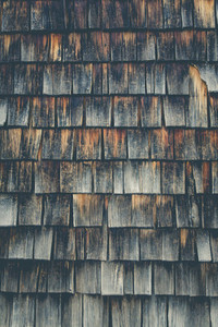 weathered wooden clapboard oak