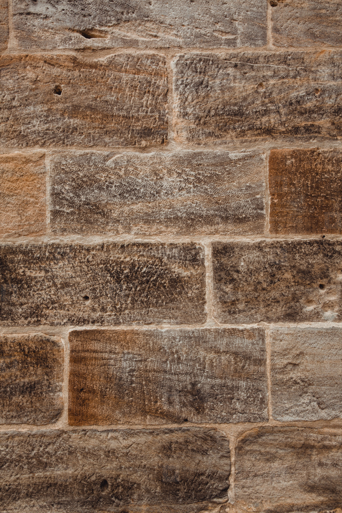 sandstone brickwall