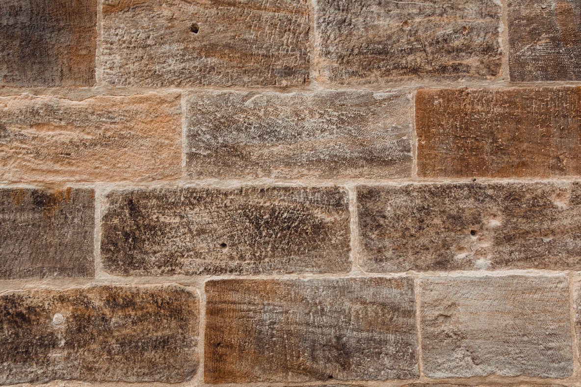 sandstone brickwall