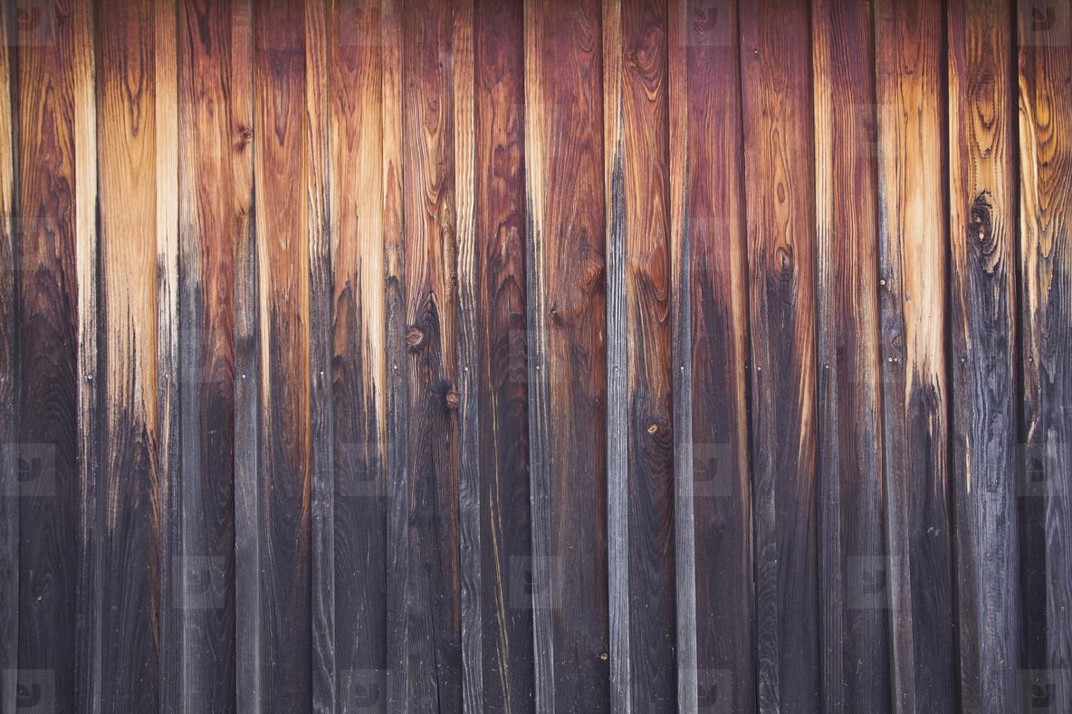 dark brown weathered wood floor