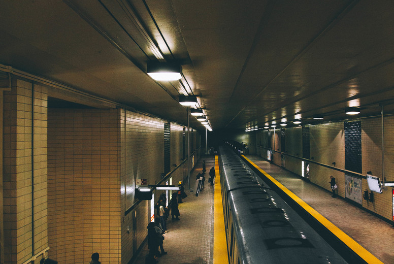 Subway station in Paris  02