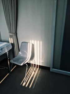 Chair under shadow