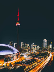 Night Time in Toronto